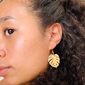Jewelry - MONSTERA LEAFS EARRINGS🌿